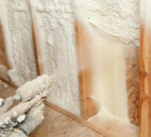 Напыление стен пенополиуретан