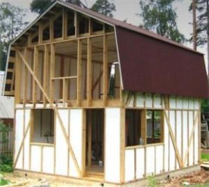 Утепление пенопластом дома построенного по каркасной технологии