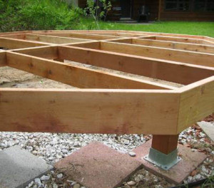 Фундамент под баню из бревна