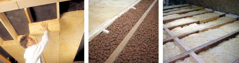 чем утеплить потолок - минватой, керамзитом, что лучше для деревянного строения