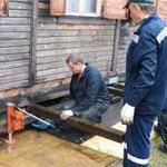 Как приподнять деревянный дом
