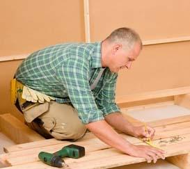 Как сделать пол в деревянном доме