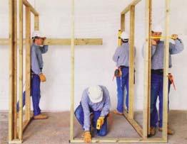 Строительство перегородки