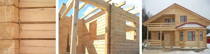 Строим брусовой дом своими руками