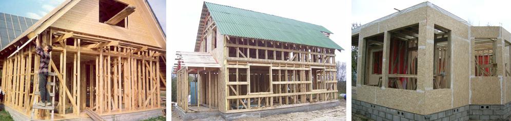 Цена строительства каркасного дома