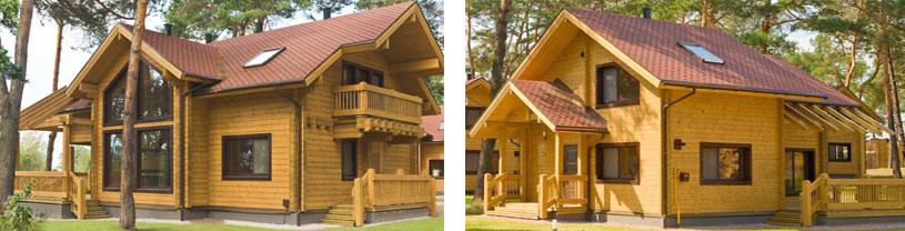 Типовой финский дом