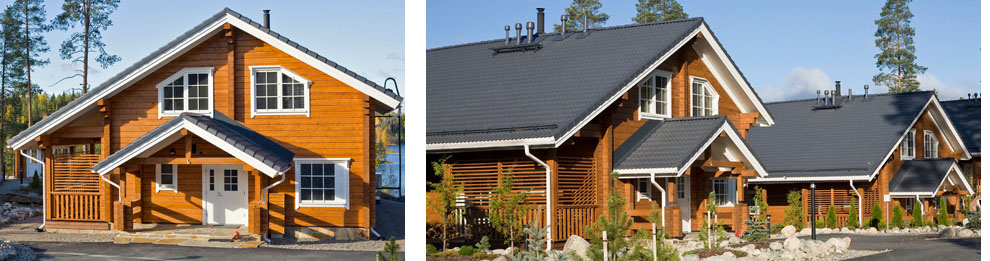 Фото финского деревянного дома
