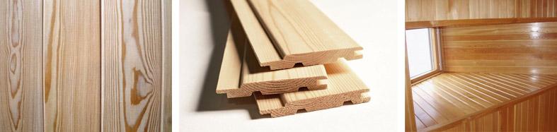 Вагонка из древесины