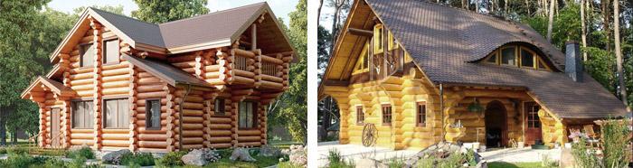Деревянные загородные дома