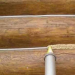 Стоимость конопатки сруба