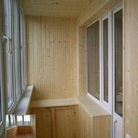 Цена обшивки балкона вагонкой