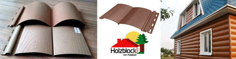 Блок-хаус марки Holzblock