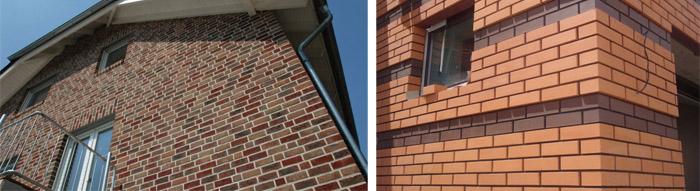 Варианты фасадной облицовки