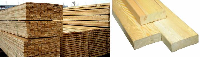 Деревянная доска 25х150х6000