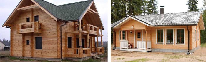 Деревянный дом 10х10