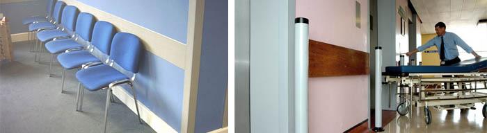 Защита стен плитами из ДСП