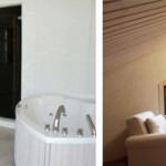 Комбинированная обшивка комнат