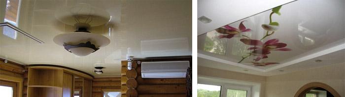 Натяжной полимерный потолок