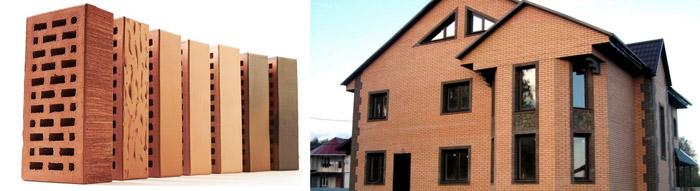 Отделка дома керамикой