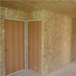 Плиты OSB для отделки стен изнутри
