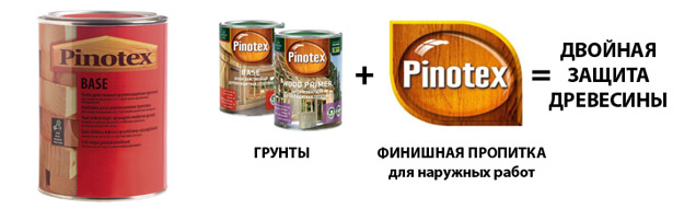 Продукция марки Pinotex