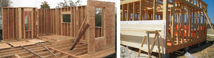 Сборные дома из дерева