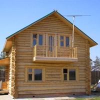 Стоимость бревенчатых домов из сруба