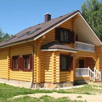 Стоимость возведения брусового дома