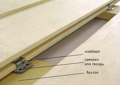 Установка планок на кляймеры