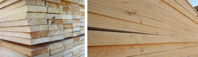 Деревянные доски 40х100х6000