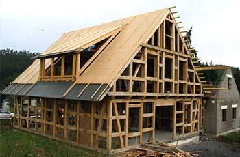Проект каркасного дома размером 8х10 м