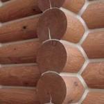 Теплый шов в домах из древесины