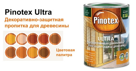 Pinotex серии Ultra