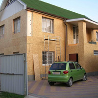 Как защитить фасад дома из OSB
